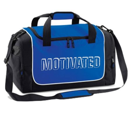 Royal holdall MOTIVATED print