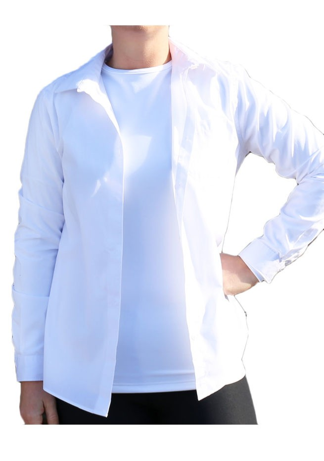 ladies BB sleeved with shirt