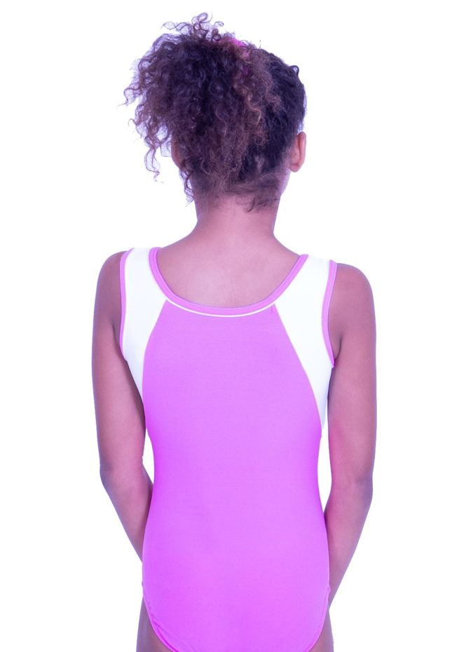 p36 pink tinkerbell fairy leotard girls gymnastics leo