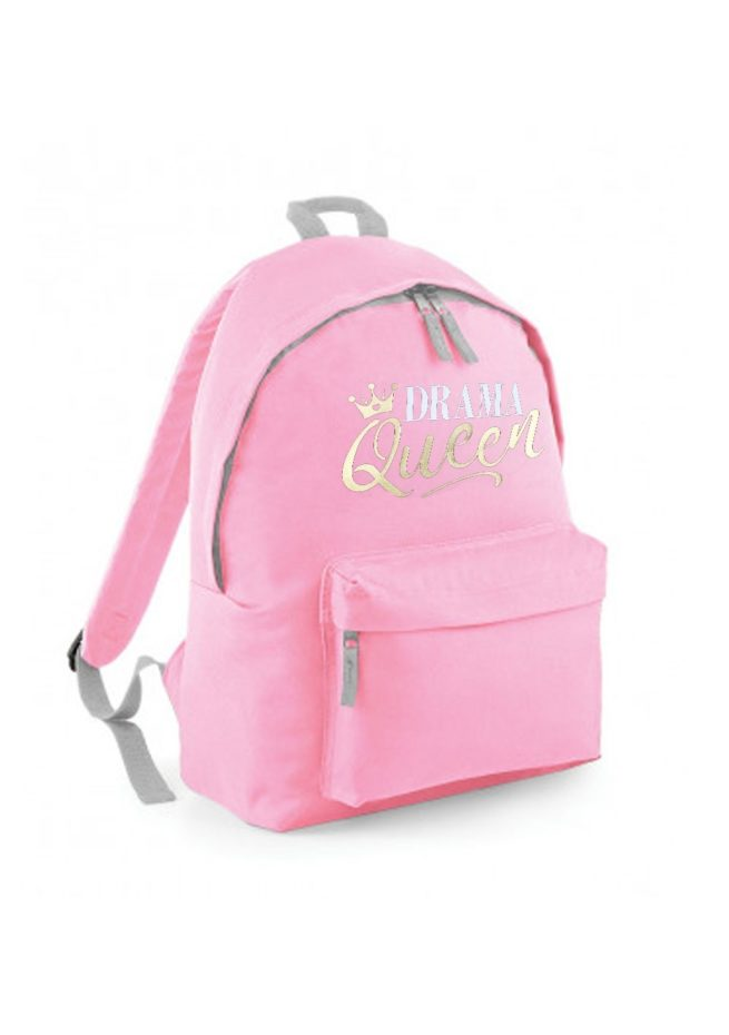 pink backpack drama queen