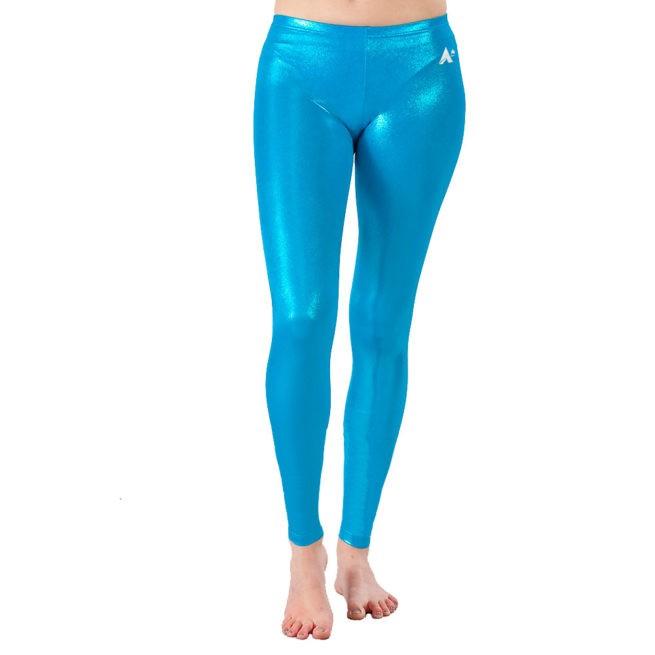 Azure Shimmer Full length leggings
