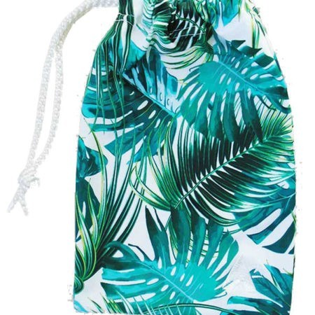 girls gymnastics gym tropical palm bag handguard h l97
