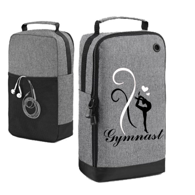 Shoe bag gymnastics grey